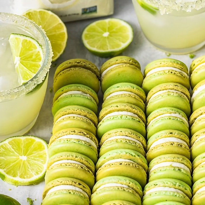Margaritas & Jose Cuervo Tequila Infused French Macarons