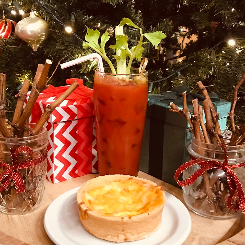 BLOODY MARYS & QUICHE WITH THE GAMES ON TV @ FREEDOM RUN WINERY