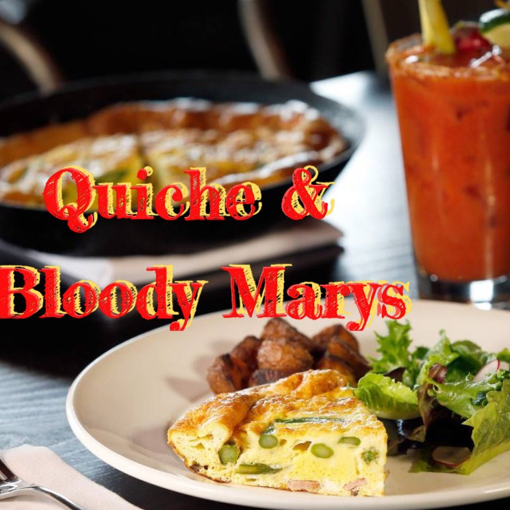 Join us on Saturday & Sunday for Quiche & Bloody Marys @ Freedom Run Winery