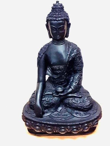 "10"" Marble Resin Buddha Statue"