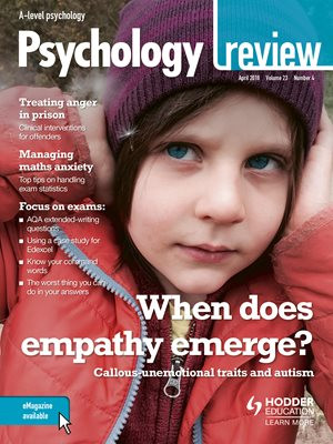 Article by lab director Jennifer Allen and SHINE collaborator Dr Alice Jones (Goldsmiths) on similarities and differences between callous-unemotional traits and autism to appear in the April edition of Psychology Review magazine!