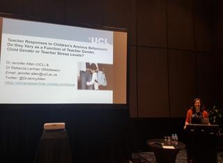 International Society for the Study of Behavioural Development 2018 biennial meeting: How do teacher