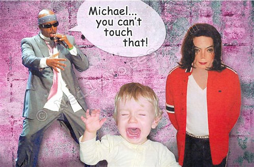 #284 -  MJ...You Can't Touch That!