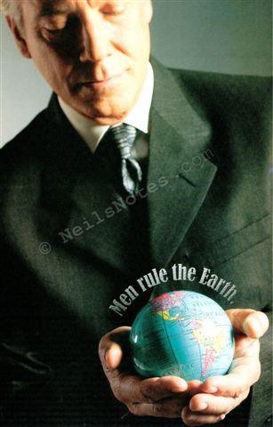#361 - Men Rule The World!
