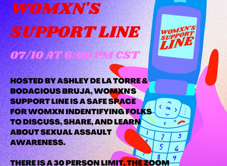 WOMXN'S SUPPORT LINE