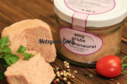 Glas Schinkenwurst grob