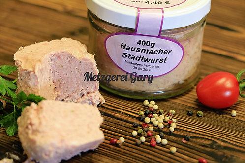 Glas Hausmacher Stadtwurst
