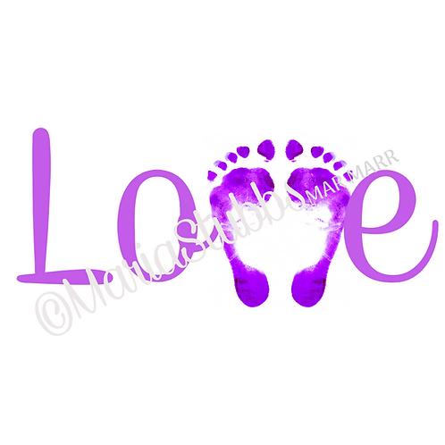 Reflexology Love Feet 2 Greeting Card/Postcard/Gift Voucher/Poster