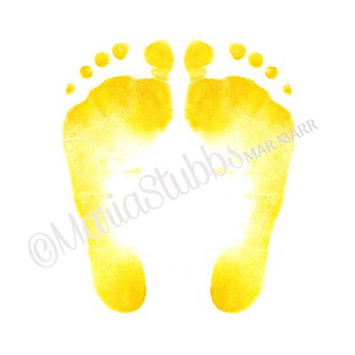 Reflexology Feet Greeting Card/Postcard/Gift Voucher/Poster