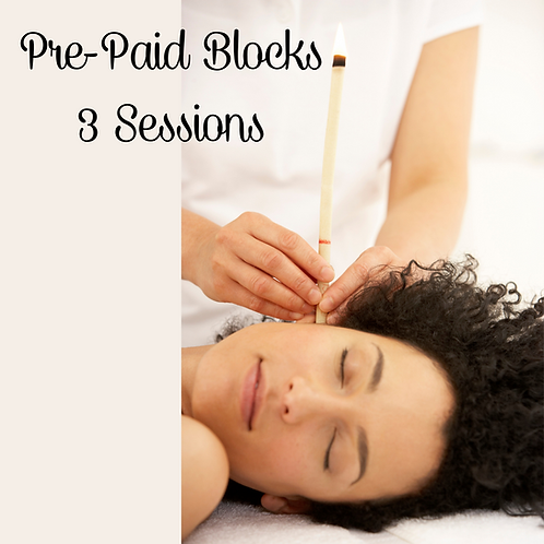 Pre-Paid Hopi Ear Candle Sessions (Block of 3)