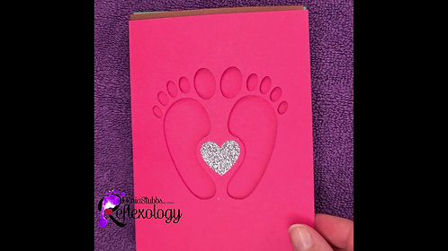 Reflexology Gift Voucher Presentation Cards
