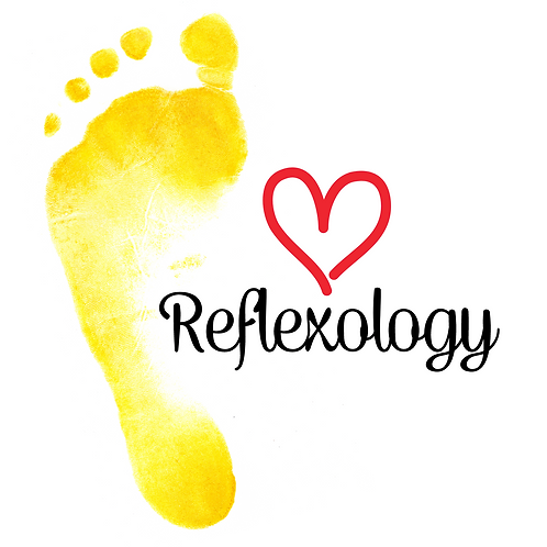 Heart Reflexology Greeting Card/Postcard (Blank)
