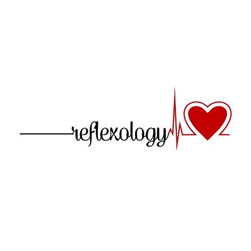 Reflexology Heartbeat Greeting Card/Postcard (Blank)