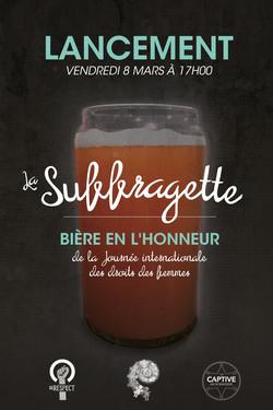 Affiche la suffragette