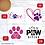 Thumbnail: Dog Lover MDF Coasters