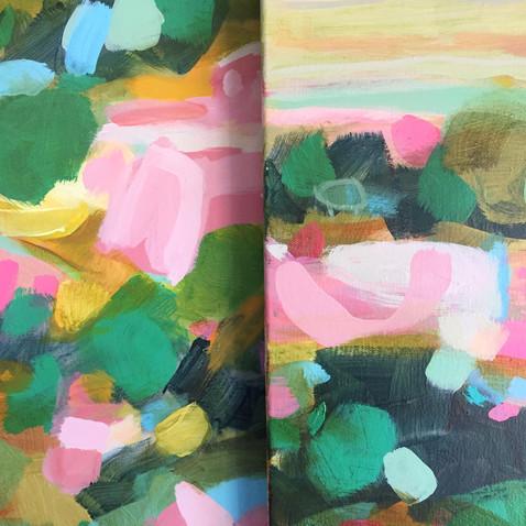 Landscapes progress shots