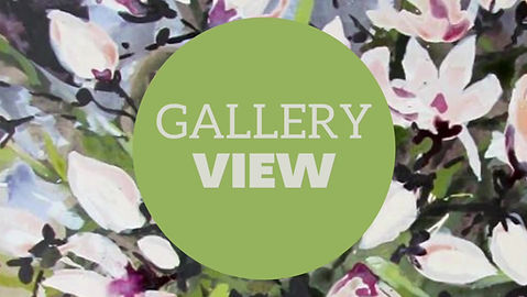 Gallery view video. Gail Dell artwork at the gallery in Cottesloe.