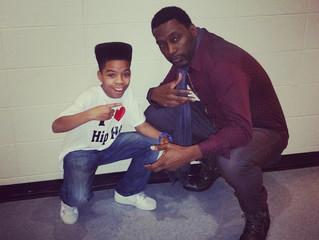 B Boy Stance with the LEGEND Big Daddy Kane!!!