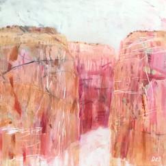 Kimberley Gorges 2 Size 93x93cm