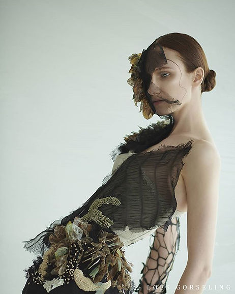 Biophilia, a story told through broderie