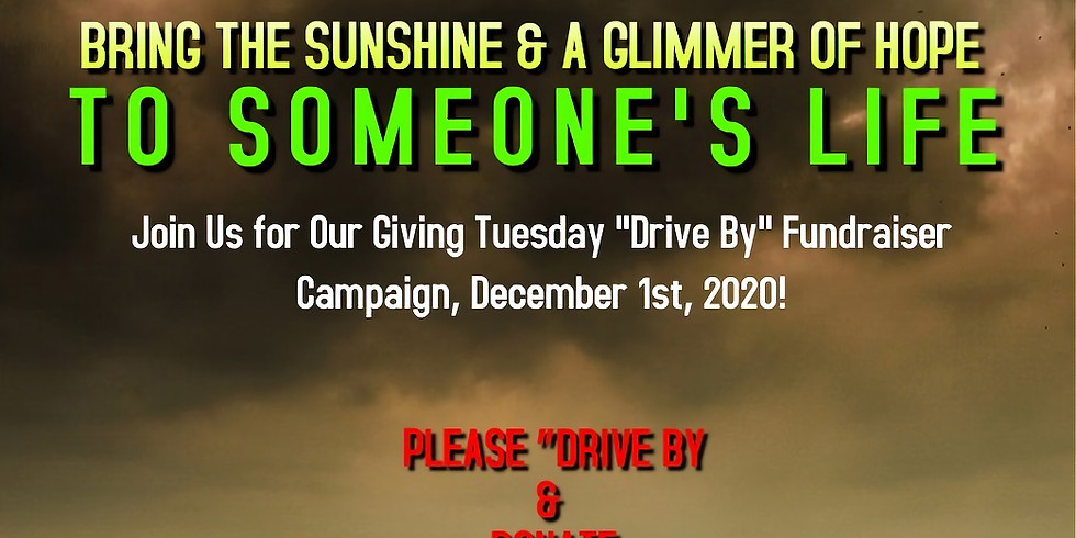 """Giving Tuesday """"Drive By,"""" Quincy Campaign"""