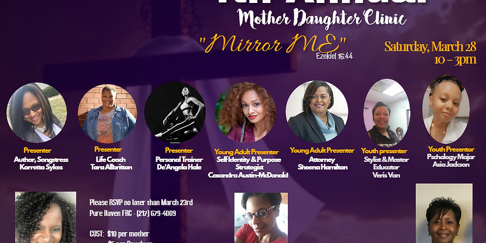 2020 Mother Daughter Clinic