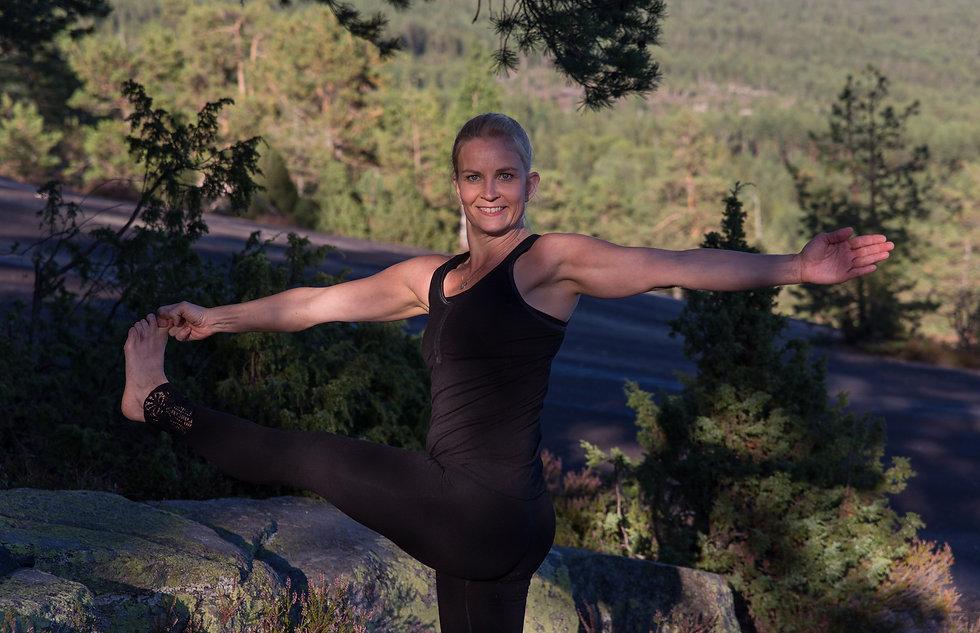 Yogainstruktør Mette Grøsland
