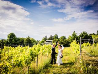 A FingerLakes Vineyard Wedding