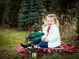 Tree Farm Holiday Portrait