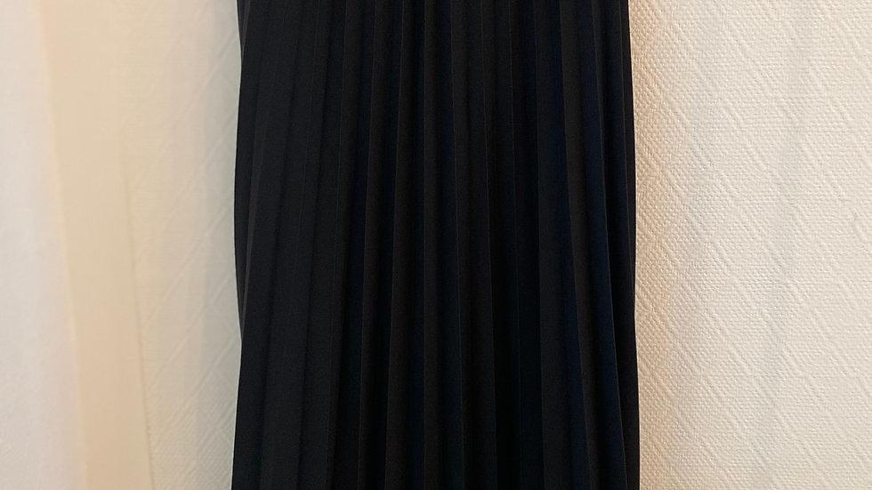 Jupe noire plissée