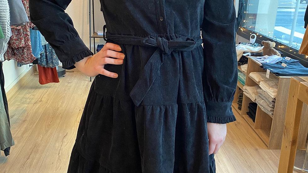 Robe en velour côtelé