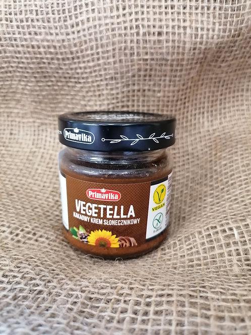 Vegane Sonnenblumenkerne Kakao Creme