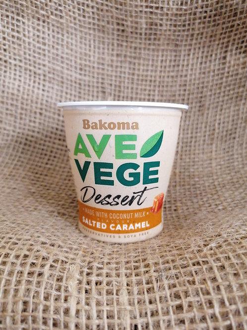 Dessert Karamell mit Salz vegan
