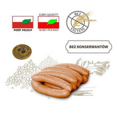 Würstchen mit Kalbfleisch