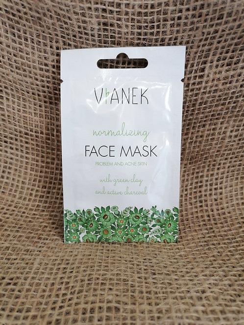 Normalisierendes Gesichtsmaske