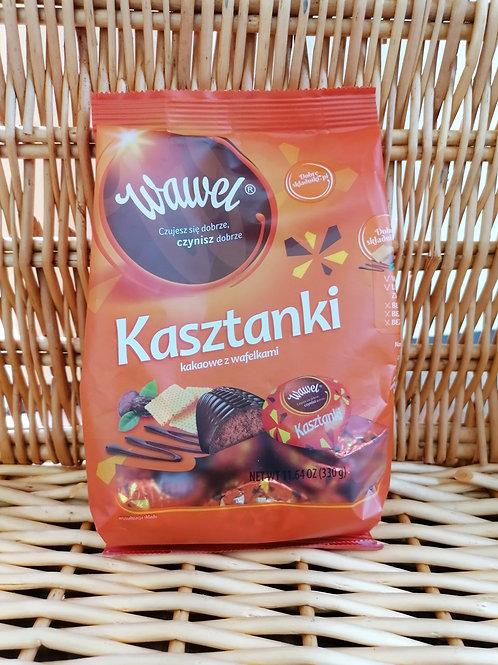 Kasztanki Pralinen mit Kakao-Wafel Füllung