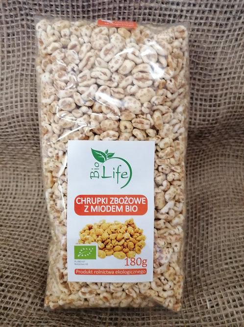 Getreide Chips mit Honig Bio  180g