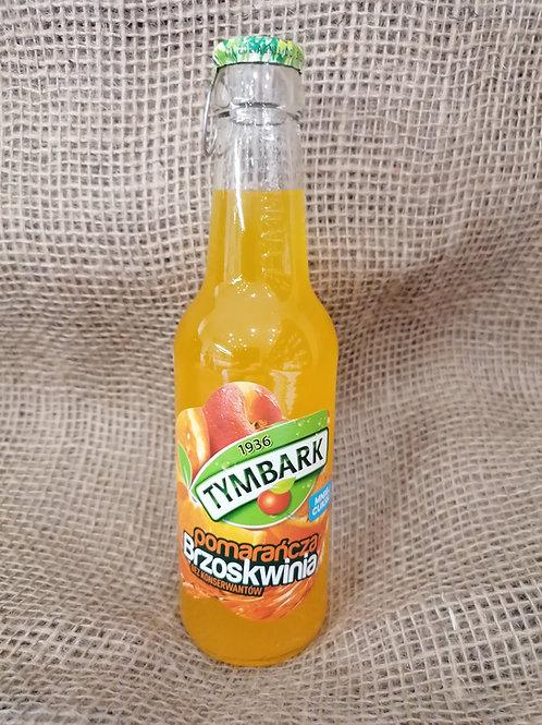 Fruchtsaft Orange und Pfirsich