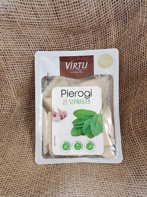 Pierogi mit Spinat