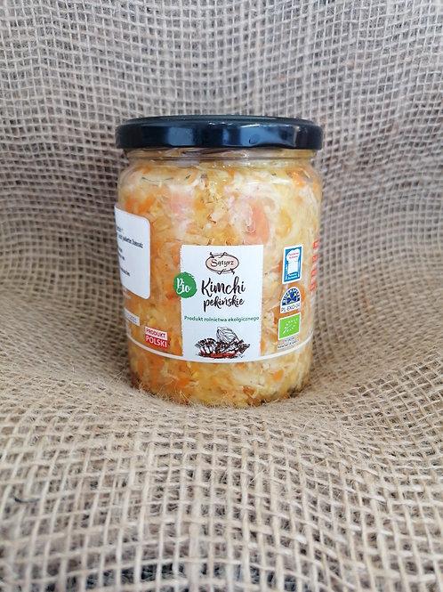 Eingelegte Kimchi Pekinger Bio nicht pasteurisiert