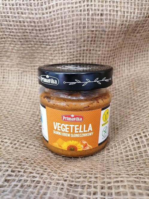Vegane Sonnenblumenkerne Pasta Karamell