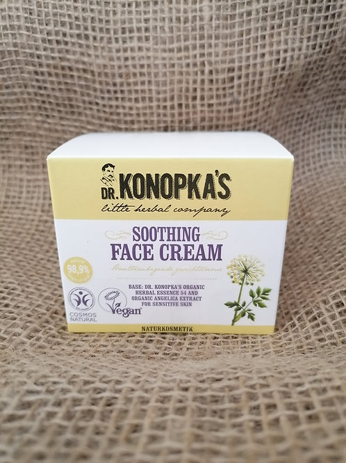 Glättende Creme für empfindliche Haut