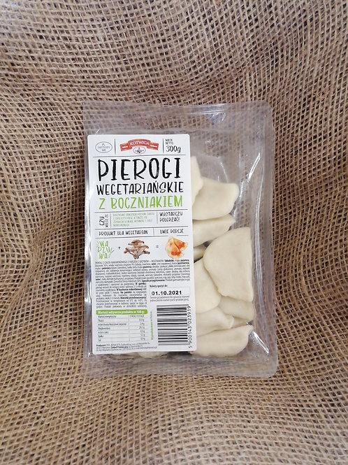 Pierogi mit Austern Pilzen
