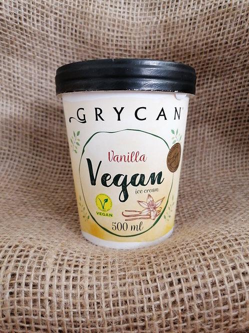 Veganes Eis Vanille Geschmack glutenfrei