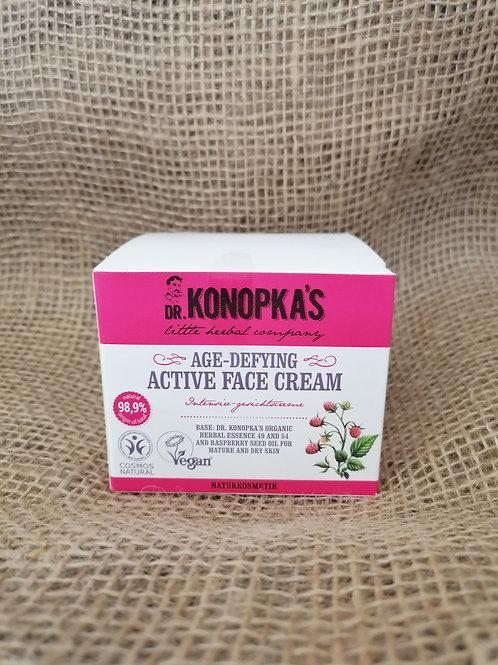 Antifalten Creme für reife und trockene Haut