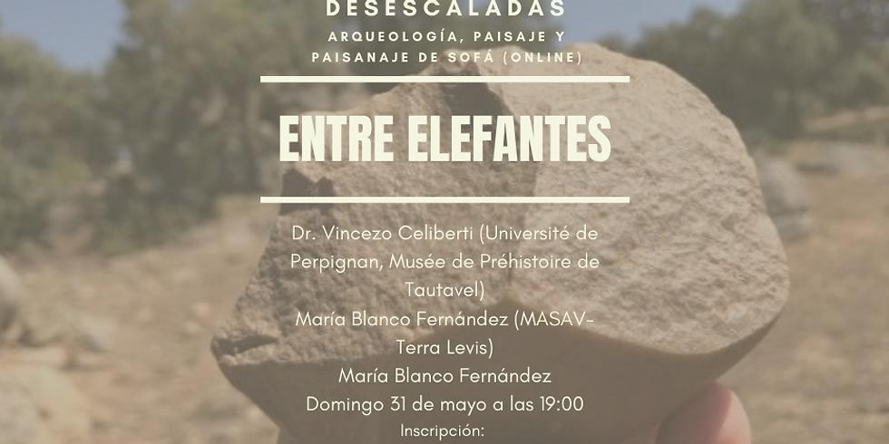 "III Charla desescalada: ""Entre elefantes"""