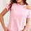 Thumbnail: Simplee Women Printed Short Sleeve Round Neck Shirt