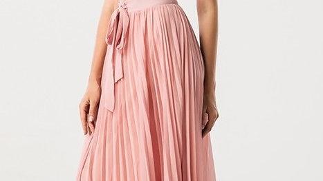Two Piece Pink Dress