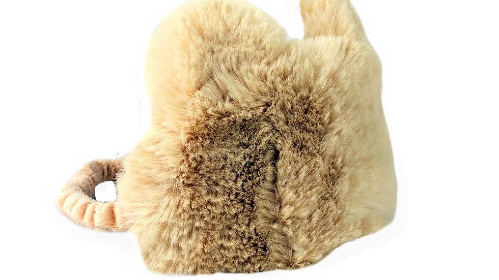 Rejuvenating Luxury Cute & Furry Plush Sleeping Eye Mask