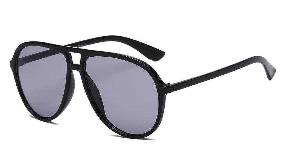 BRANSON   S1083 - Retro Tinted Lens Aviator Sunglasses